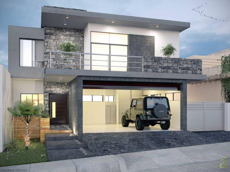 fachadas de casas modernas y minimalistas - Fotos De Fachadas De Casas